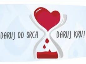 U utorak akcija darivanja krvi u Kočerinu