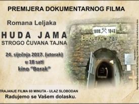 Dokumentarni  film Huda jama – strogo čuvana tajna u Širokom Brijegu