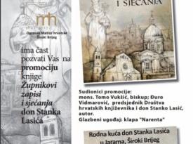Najava: 50 godina svećeništva dr. sc. don Stanka Lasića